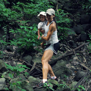 fitness girl jungle