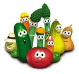 GMO cartoon vegetables